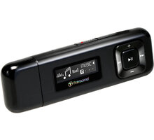 Transcend T-Sonic 330, 8GB, černý - TS8GMP330K