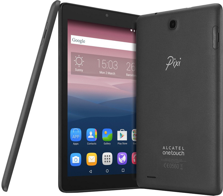 ALCATEL OT-PIXI 3 (8) - 16GB, šedá