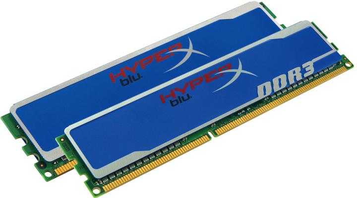 DDRAM3 Kingston HyperX blue editon 2x4GB