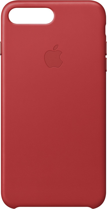 Apple Kožený kryt na iPhone 7 Plus – (PRODUCT) RED