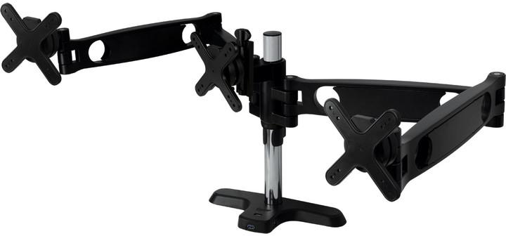 """Arctic stolní držák Z3 Pro pro LCD do 30"""", USB 3.0 HUB, černá"""