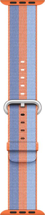 Apple watch náramek 38mm Orange Woven Nylon
