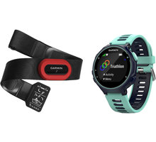 GARMIN Forerunner 735 XT Run Bundle, modrá - 010-01614-16