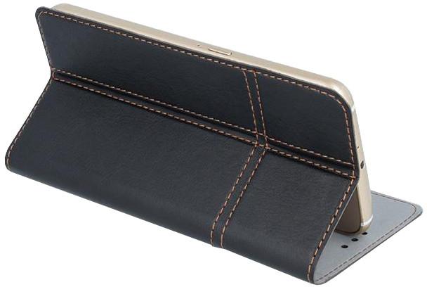 """Forever knížkové pouzdro (smartcase) typ a fold univerzální 5,2-5,4"""" - černé"""