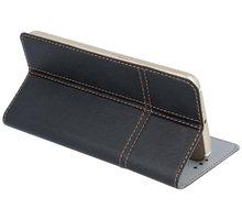 """Forever knížkové pouzdro (smartcase) typ a fold univerzální 5,2-5,4"""" - černé - LCSSMUN-A54BK"""