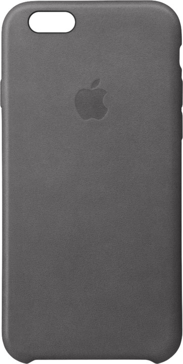 Apple iPhone 6s Leather Case - Storm Gray