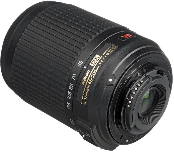 Nikkor 55-200mm f/4-5.6 AF-S VR DX