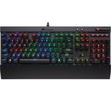 Corsair Gaming K70 LUX RGB LED + Cherry MX RED, CZ - CH-9101010-CZ