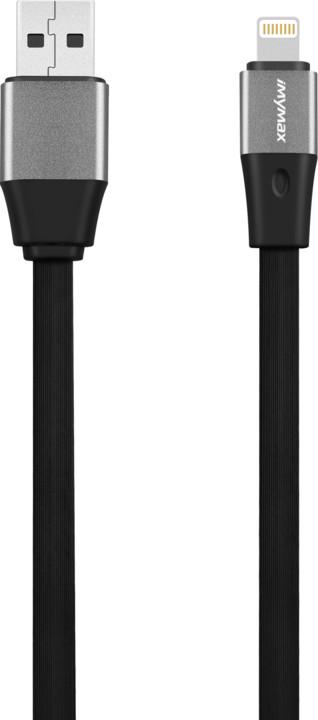 iMyMax Business Plus Lighting Cable, černá