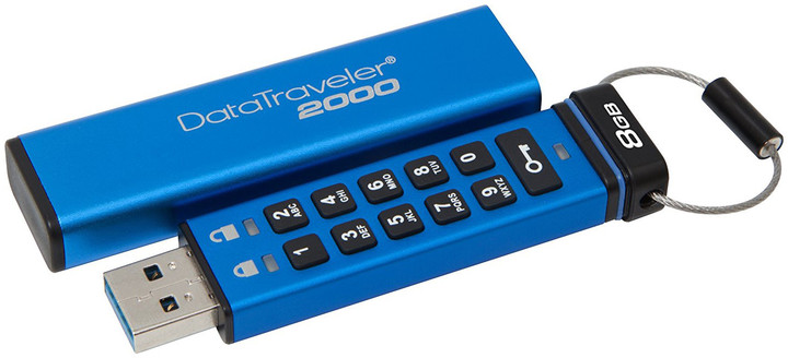 Kingston USB DataTraveler DT2000 - 8GB