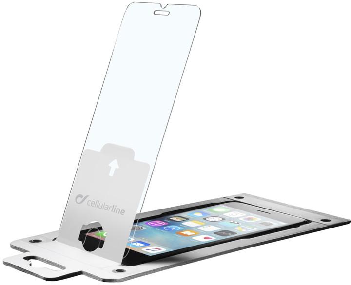 CellularLine Glass EASY FIX ochranné tvrzené sklo pro Apple iPhone 6S