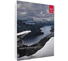 Adobe Photoshop Lightroom v.6, 1 uživatel, komerční - Win, Mac - ENG - 65237401