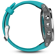GARMIN fenix5S Silver Optic, modrý pásek