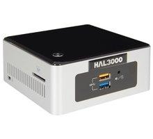 HAL3000 NUC Kit Pentium, černostříbrná - PCHS2123