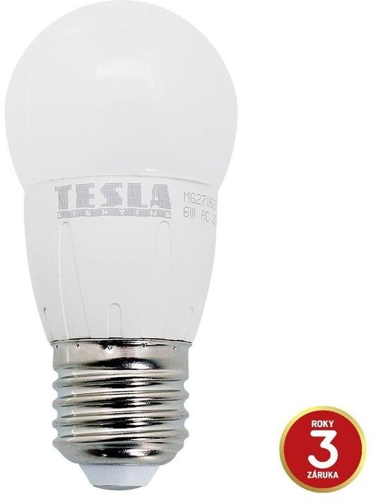 Tesla Mini E27/230V, 6W, teplá bílá, 470lm