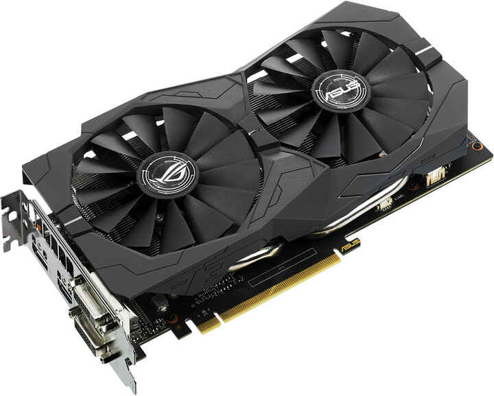 ASUS GeForce GTX 1050 Ti STRIX-GTX1050TI-4G-GAMING, 4GB GDDR5
