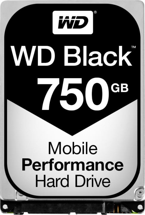WD Black (BPKX) - 750GB