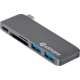 eSTUFF USB C Slot-in Hub Grey