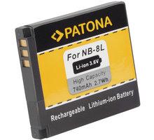 Patona baterie pro Canon, NB-8L 740mAh Li-Ion
