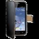 CELLY Wally pro Samsung Galaxy Trend, PU kůže, černá