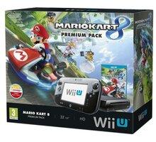 Nintendo Wii U Premium Pack Black + Mario Kart 8 - NIUH080110