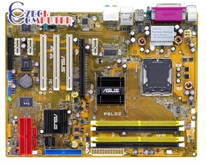 ASUS P5LD2 - Intel 945P