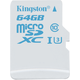 Kingston Action Card Micro SDXC 64GB Class 10 UHS-I U3 + SD adaptér