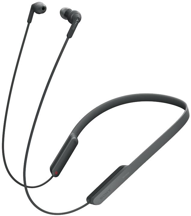 Sony MDR-XB70BT, černá
