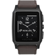 Vector SmartWatch Meridian-Brushed Black/Dark Brown Leather