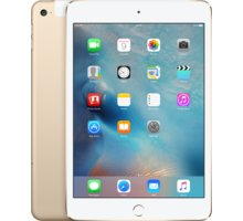 APPLE iPad Mini 4, 32GB, Wi-Fi, 3G, zlatá - MNWG2FD/A