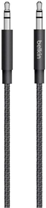 Belkin MIXIT 3,5mm Jack M/M Metallic kabel, 1,2 m, černá