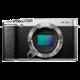 Fujifilm FinePix X-M1, tělo, stříbrná