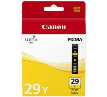 Canon PGI-29 C, žlutá - 4875B001