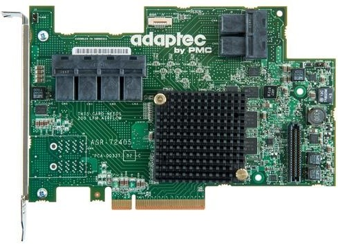 ADAPTEC RAID 72405 Single SAS/SATA 24 portů, x8 PCIe
