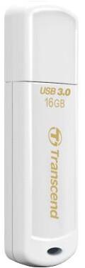 Transcend JetFlash730 16GB, bílá