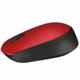 Logitech Wireless Mouse M171, červená
