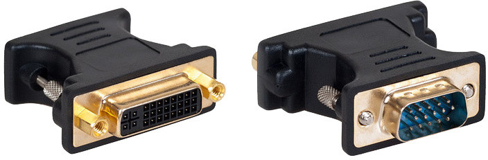 AQ VGA (D-sub) samec - DVI (24+5) samice