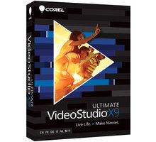 Corel VideoStudio Ultimate X9 ML - VSPRX9ULMLMBEU