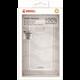 Krusell BOVIK zadní kryt pro Samsung Galaxy S8+, transparentní