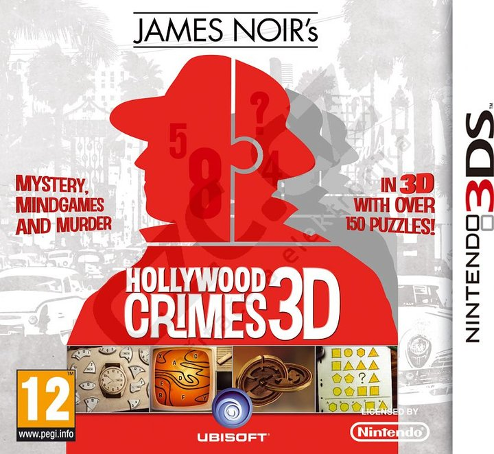 James Noir's Hollywood Crimes - 3DS