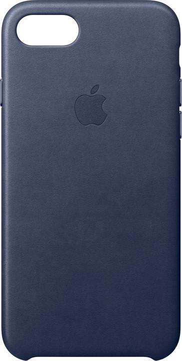 Apple Kožený kryt na iPhone 7 – půlnočně modrý