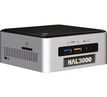 HAL3000 NUC Kit Core i3, černostříbrná - PCHS2124