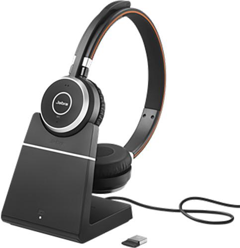 Jabra Evolve 65, Duo, USB-BT, MS, stojánek