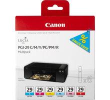 Canon PGI-29, CMY/ PC/ PM/ R, multipack - 4873B005