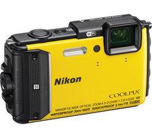 Nikon Coolpix AW130, žlutá - VNA844E1
