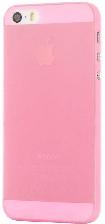 EPICO Plastový kryt pro iPhone 5/5S/SE TWIGGY MATT - růžový