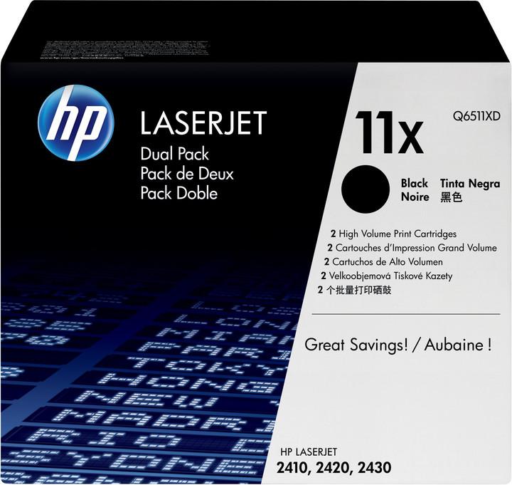 HP Q6511X, černý