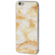 EPICO pružný plastový kryt pro iPhone 6/6S MARBLE - gold