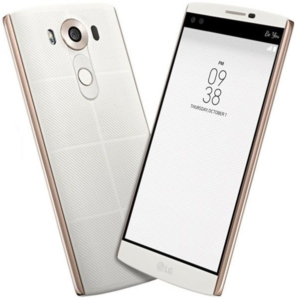 LG V10, bílá