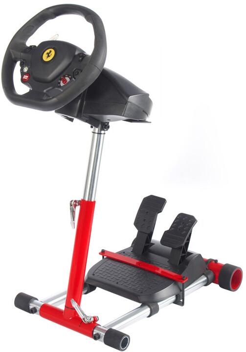 Wheel Stand Pro for Thrustmaster F458 SPIDER/ T80 /T100 /F458 /F430 Wheels V2 ROSSO, červený